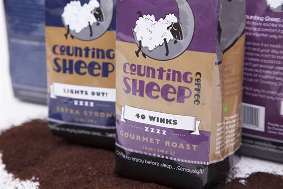 COUNTING SHEEP, IL CAFFE' CHE TI AIUTA A DORMIRE!