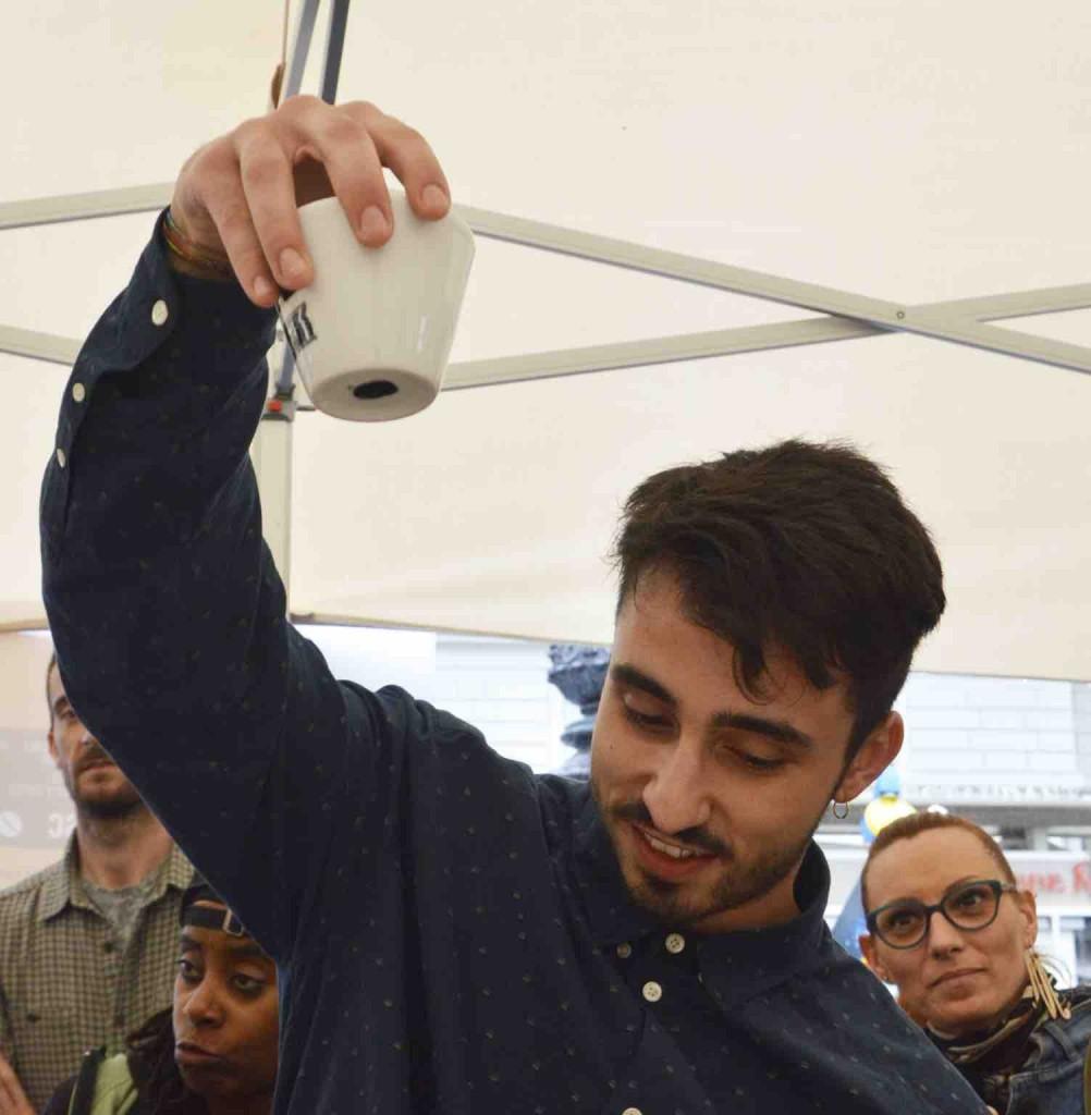 Il Campione in carica Alessandro Ghizzardi