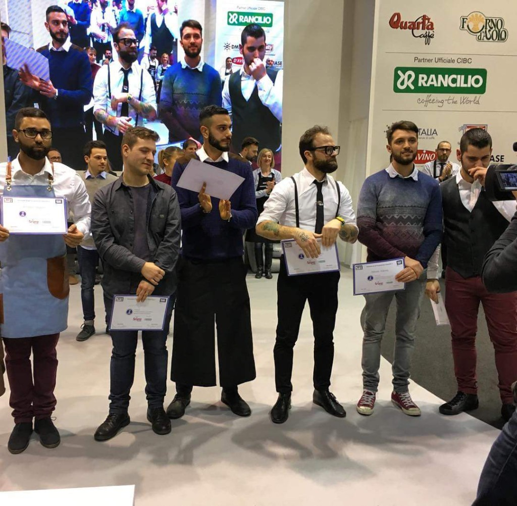I 6 finalisti...