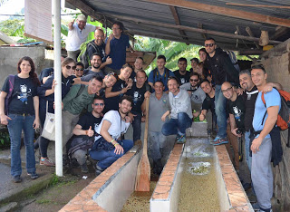 umami barista camp wet mill panchito