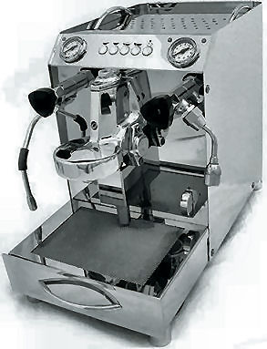 La macchina caffe espresso da casa vibiemme domobar super - Macchina caffe professionale per casa ...