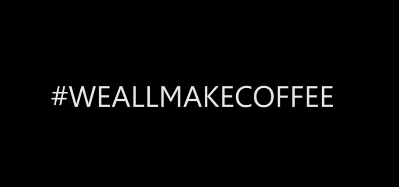 """WE ALL MAKE COFFEE"", DESCRIVI IL TUO LAVORO IN UNA FRASE!"