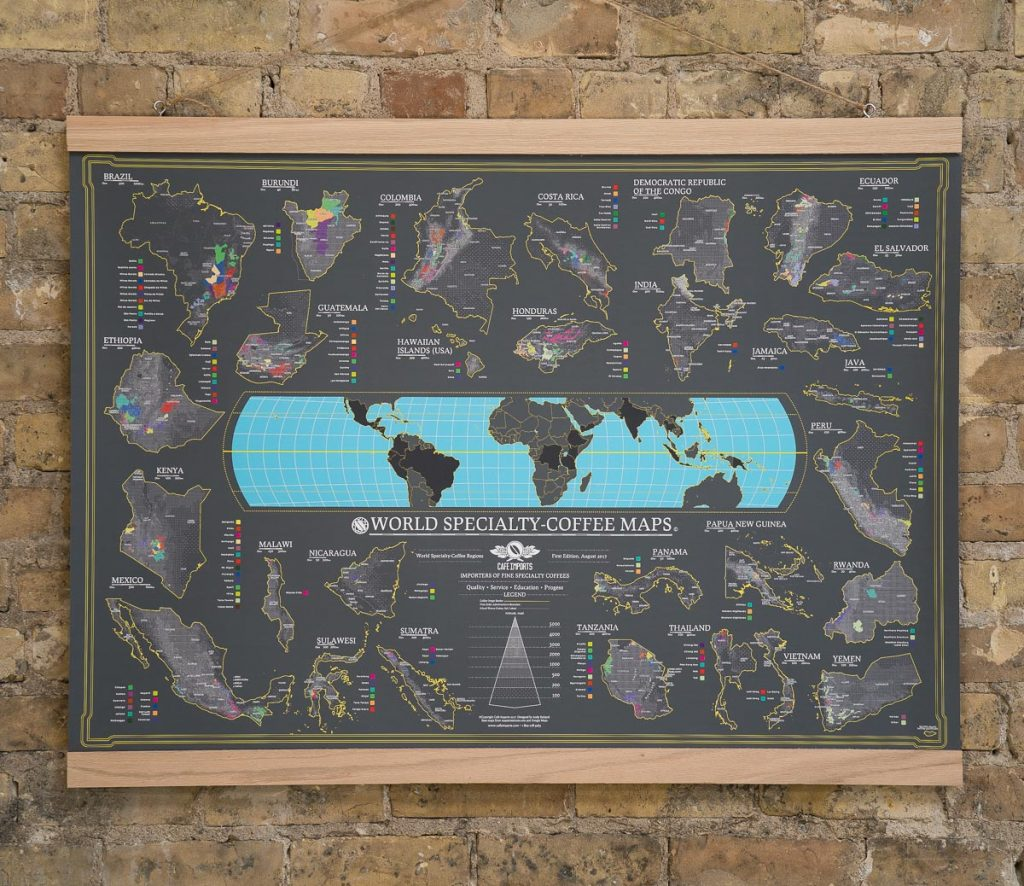 World Specialty Coffee Map